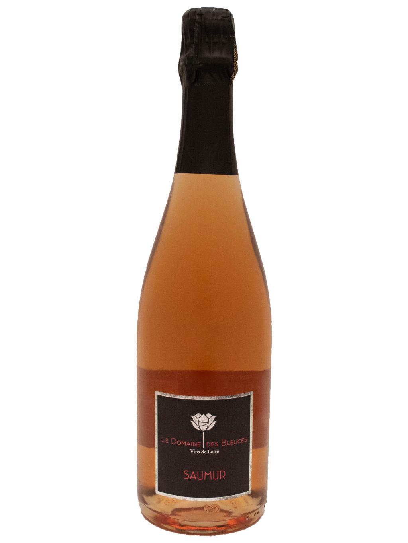 Saumur Brut Rosé 75cl Domaine des Bleuces